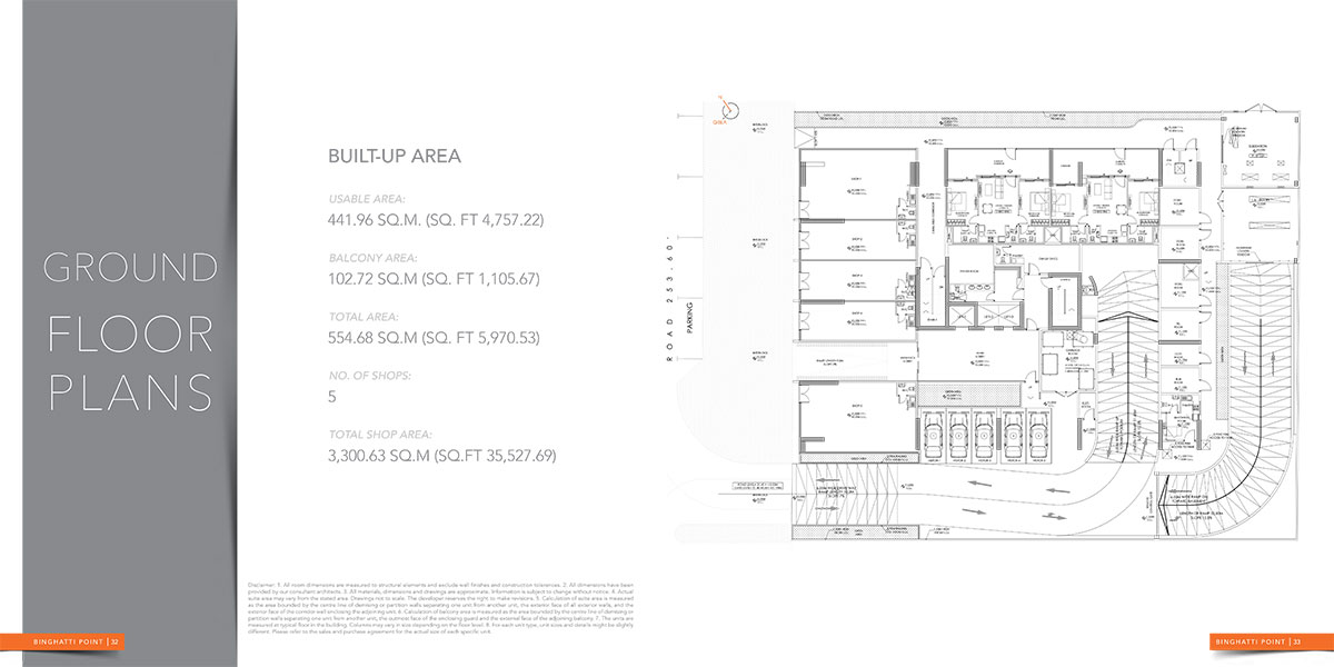 damac aykon heights Floor Plan